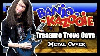 "Banjo Kazooie ""TREASURE TROVE COVE"" - METAL Cover by ToxicxEternity"