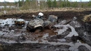 Квадроцикл не пройдет, Днепр сможет! Синявинские болота 2019.