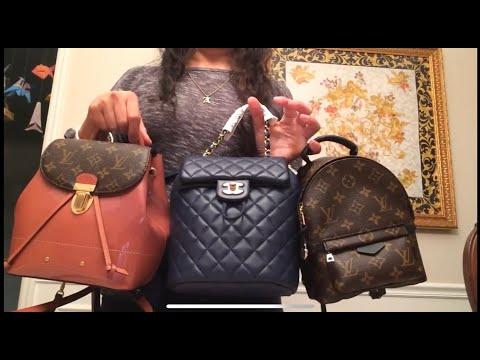 32f5776f07d6 MINI backpack 🎒 Comparison- Chanel vs. Louis Vuitton - YouTube