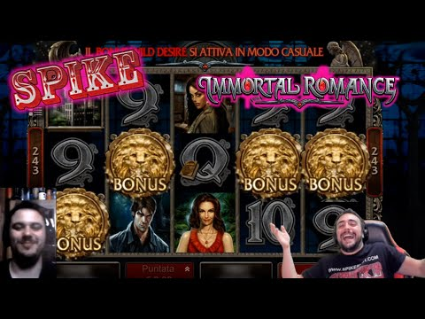 ONLINE SLOTS - Trying IMMORTAL ROMANCE By Microgaming