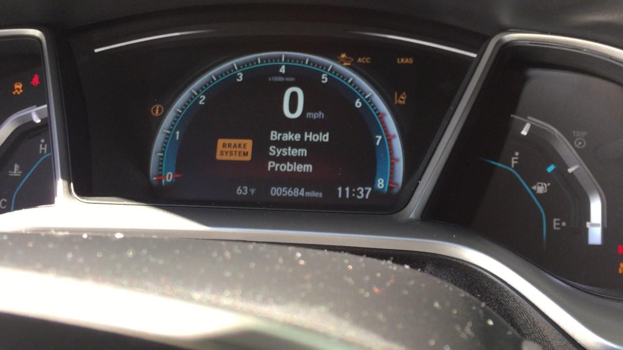 2016 Honda Civic Touring starting problems - YouTube