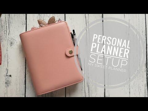 Personal planner - Setup