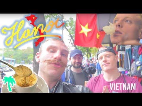 HANOI VIETNAM 🇻🇳 DOPE City Tour – Must See Food, Egg Coffee & Viet Gangz Cafe   Asia Travel Vlog