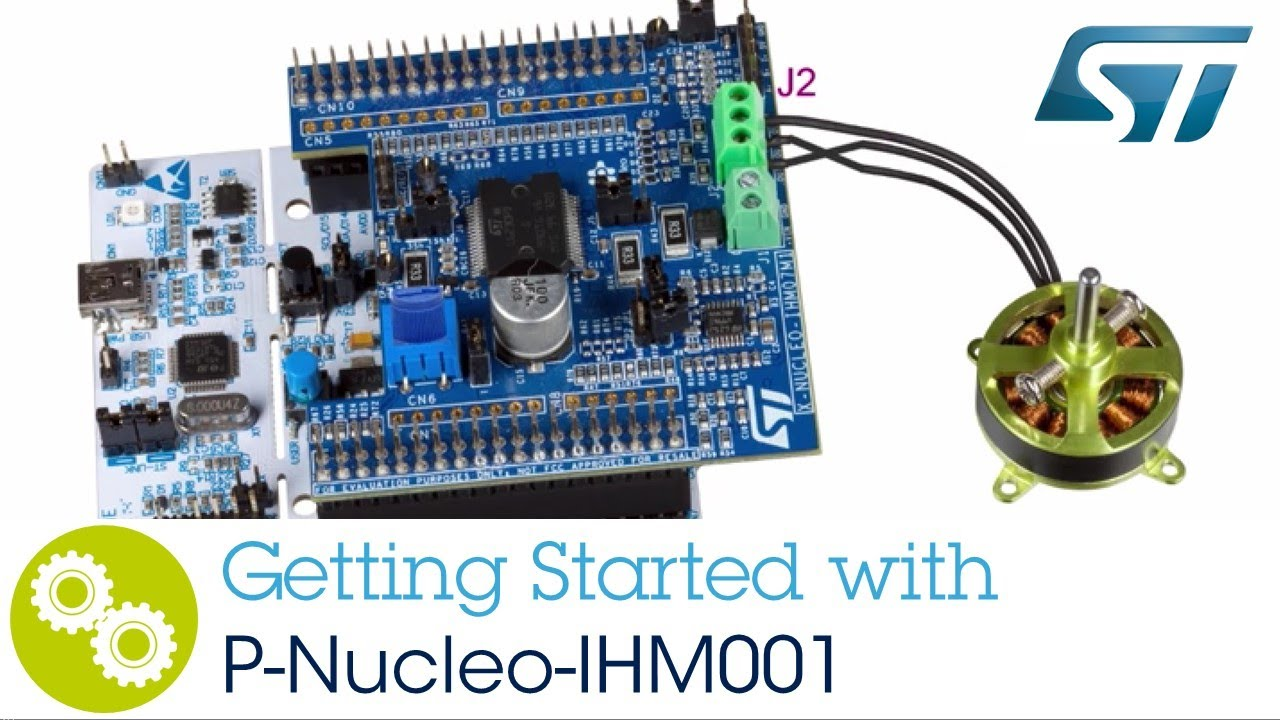 Getting started with the STM32 Motor Control Nucleo Pack (P-Nucleo-IHM001)