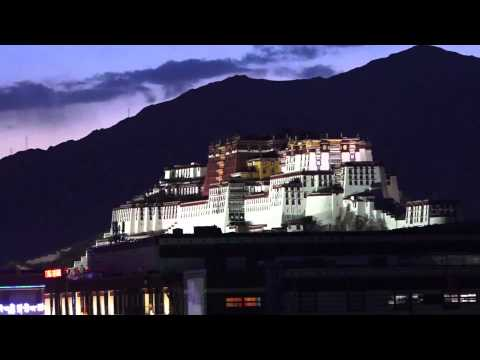 Potala Palace By Night, Lhasa, Tibet May 2015. Shoot with Sony CX900