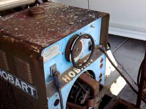 Old Hobart Welder Manual