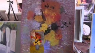 Научиться рисовать как Ван Гог, уроки живописи для новичков, Сахаров