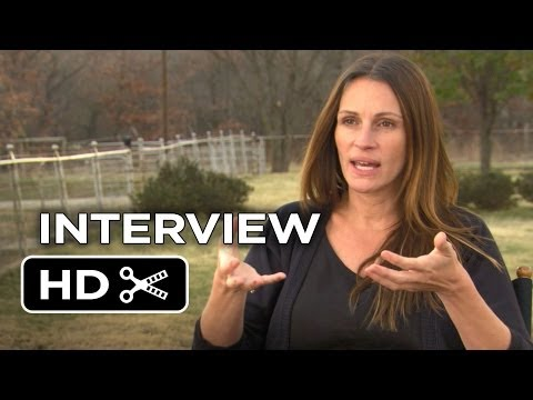 August: Osage County Interview - Julia Roberts (2013) - Benedict Cumberbatch Movie HD