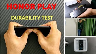 Huawei Honor Play Durability (Scratch, Bend, Drop, Water)  Test ! Secret Waterproof ???