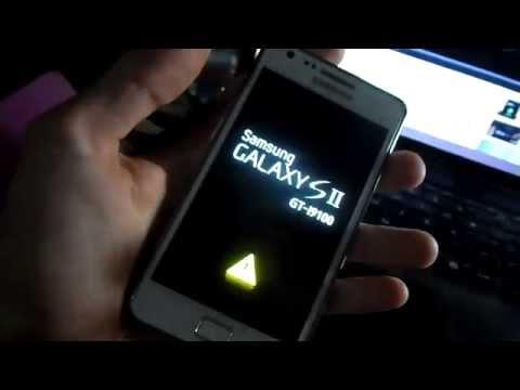 Samsung Galaxy SII Yellow Triangle Screen - Fixed!!! Dec 2014