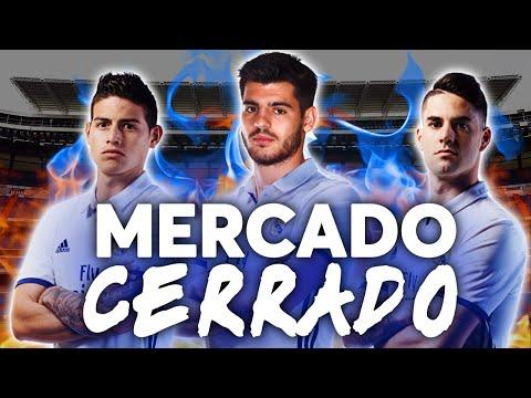 Real Madrid después del mercado   Isco y James Rodriguez se quedan   FICHAJES