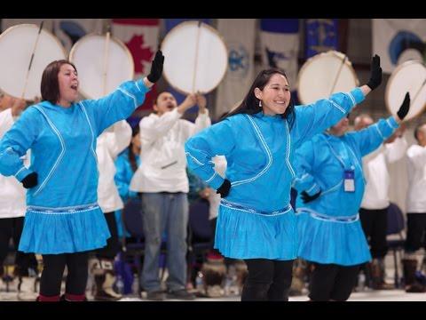 Qikiqtagruq Northern Lights Dancers (Alaska)