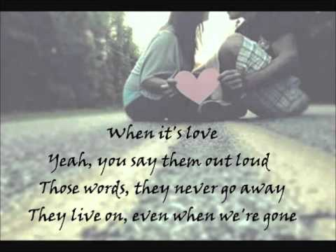 What Are Words - Chris Medina Lyrics