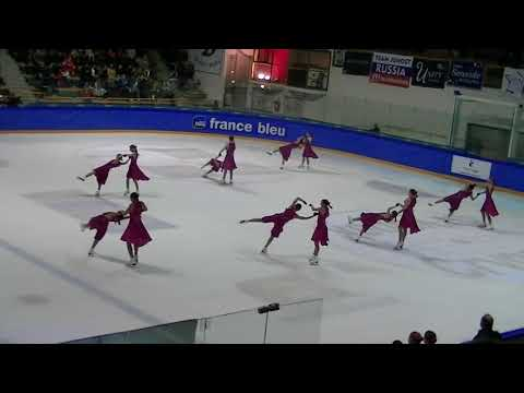 French Cup 2018 : Team Lexettes (USA) , programme libre junior.