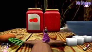 Thơ Nguyễn chơi game cuộc giải cứu thế giới của Barbie và ngựa pony tập 2