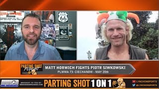 Matt Horwich talks fight in Poland May 20,  Jason Mayhem Miller & win over Thales Leites