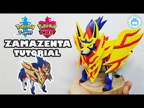 EP30: ZAMAZENTA Pokémon Sword and Shield Clay Art | Pokémon Clay Tutorial 2019 thumbnail