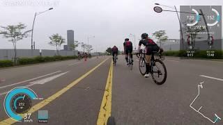 데상트 듀애슬론 2018 , 55km 싸이클