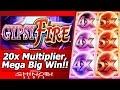 Gypsy Fire Slot - Free Spins Mega Big Win Bonus with 20x Multipliers