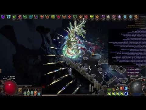 POE 3.6 Pathfinder Kinetic Blast farming T16 UGS with Nemesis mobs drop 3 additional currency items