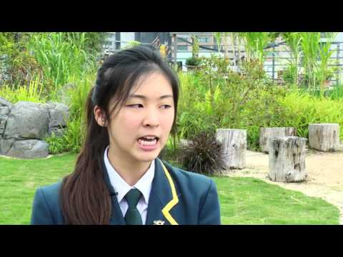 Joyce Lui - Year 12 student & Secondary School Captain, Australian International School Hong Kong