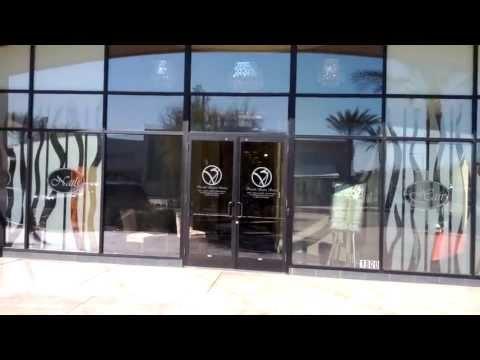 Salon window graphics - Hyper Graphix 2 of 2