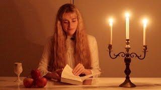 Reading Newton's Principia Mathematica by candlelight