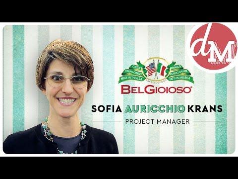BelGioioso's Sofia Auricchio Krans Reveals Proprietary Artigiano Cheese and La Bottega Line