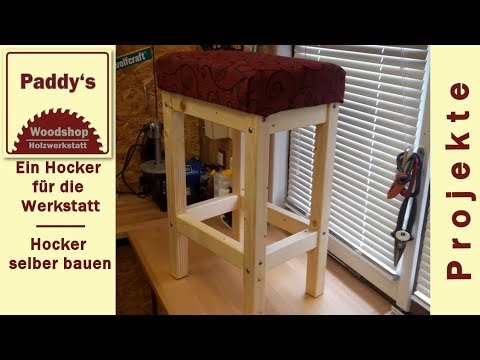 barhocker holz selber bauen good holzhocker selber bauen fertigen machen miniatur youtube avec. Black Bedroom Furniture Sets. Home Design Ideas