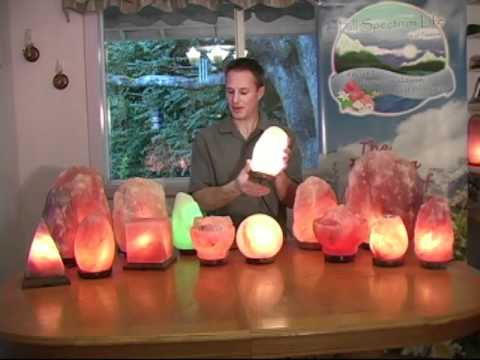 Full Spectrum Life Himalayan Salt Lamps - YouTube