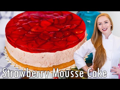 Strawberry Mousse CakeYouTube