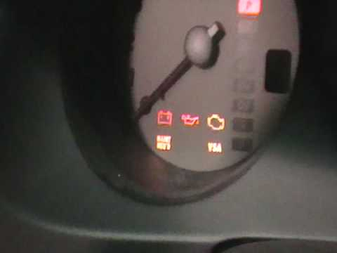 how to clear engine maintenance light