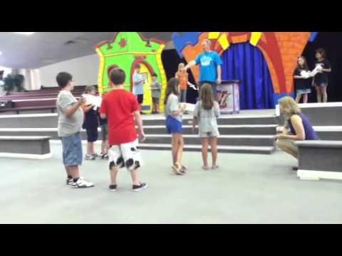 Church camp games