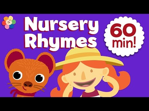 Children's Nursery Rhymes - London Bridge & more | 1 Hour of Sing Along Songs for Kids and Cartoons