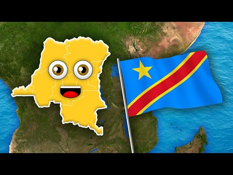 Democratic Republic of the Congo Geography