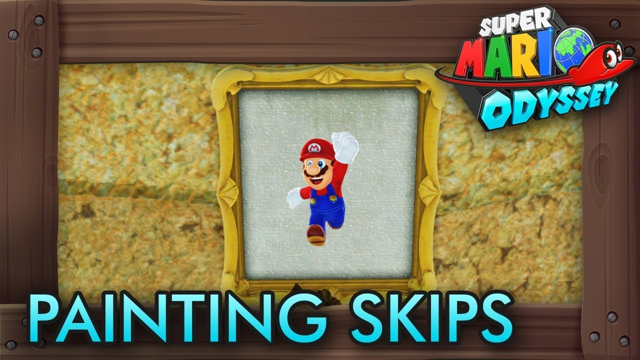 7 painting moons you can get without paintings in super for Super mario odyssey paintings