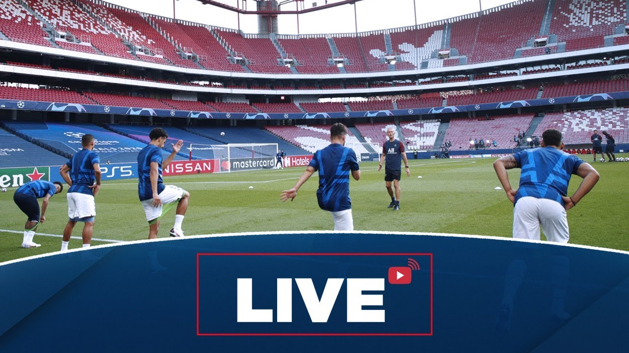 L Avant Match Paris Saint Germain Bayern Munich Finale De Champions League Youtube