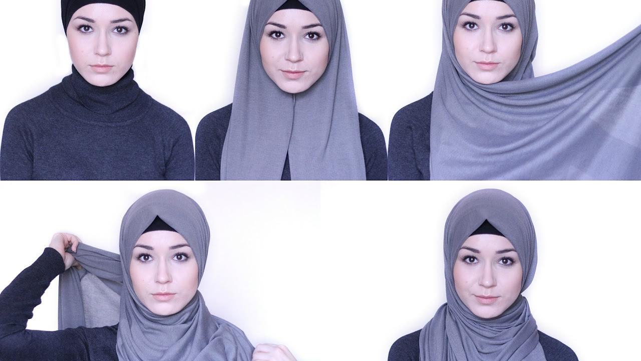 Langkah Langkah Praktis Tutorial Hijab Simple Dan Modis