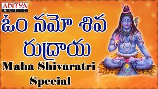 Om Namo Shiva Rudraya || Telugu Devotional Songs  Jukebox ||  Hema Chandra.||