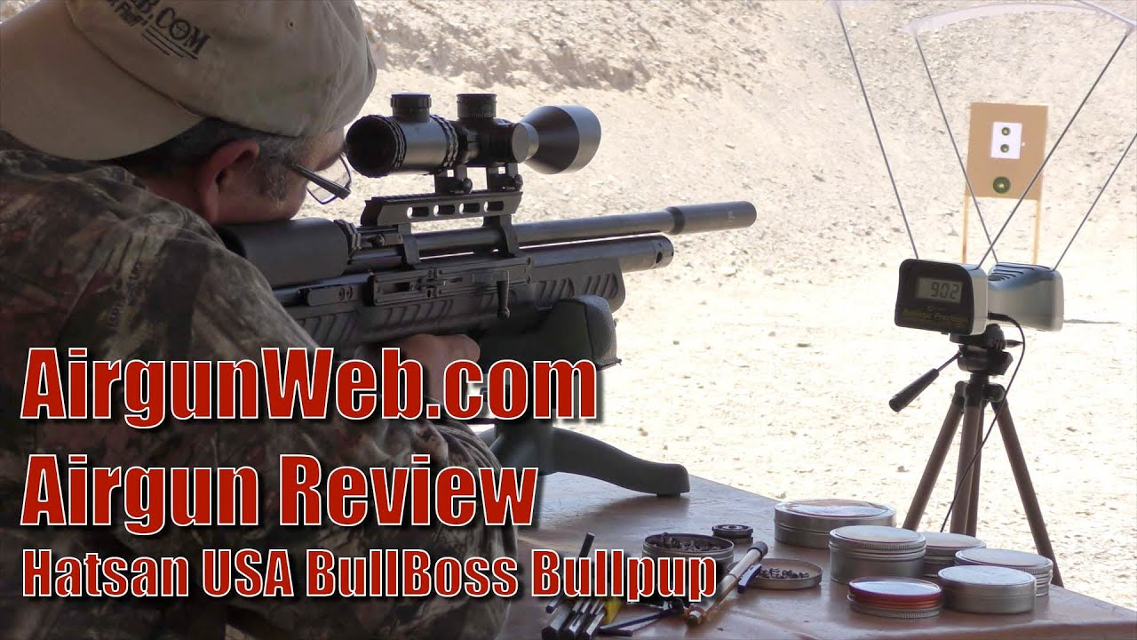 Hatsan BullBoss Bullpup : Accurate, Powerful, Affordable - Airgun Review By  AirgunWeb