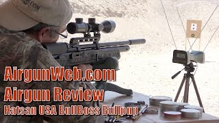 hatsan BullBoss Bullpup : Accurate, Powerful, Affordable - Airgun Review By AirgunWeb