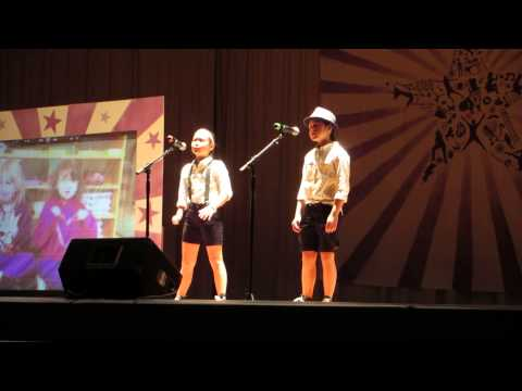 """""""Brave"""" by Olivia and Isabel Katonah Elementary School 2014 5th Grade Talent Show"""