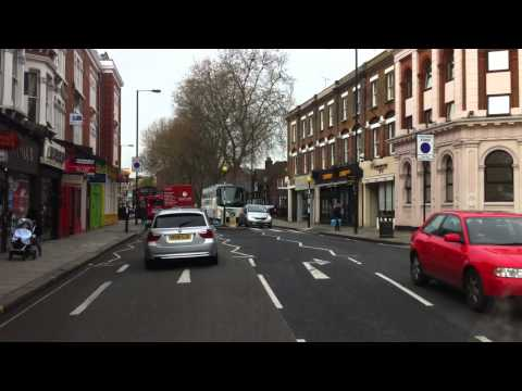 London Streets (335.) - Fulham Road - Putney Bridge - Wimbledon