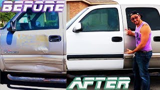 Video Replacing a 1999-2007 Chevy/GMC truck door with a new/used one✔ download MP3, 3GP, MP4, WEBM, AVI, FLV Juli 2018