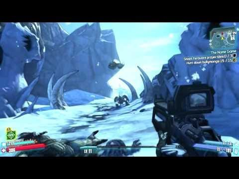 Borderlands 2 The Name Game Shoot Ferovore Projectiles Playthrough Youtube