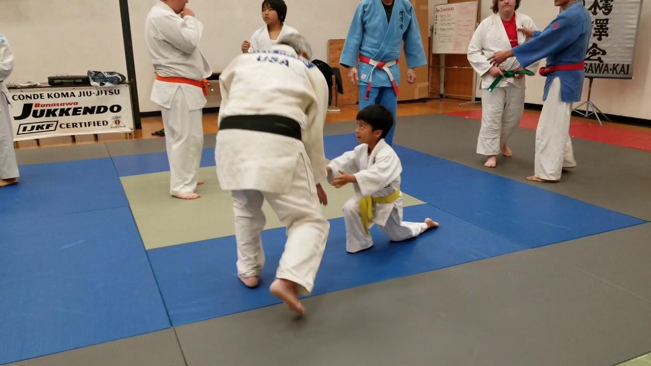 Dr. Steve Hwang practices at Costa Mesa's Bunasawa-Kai Judo Dojo