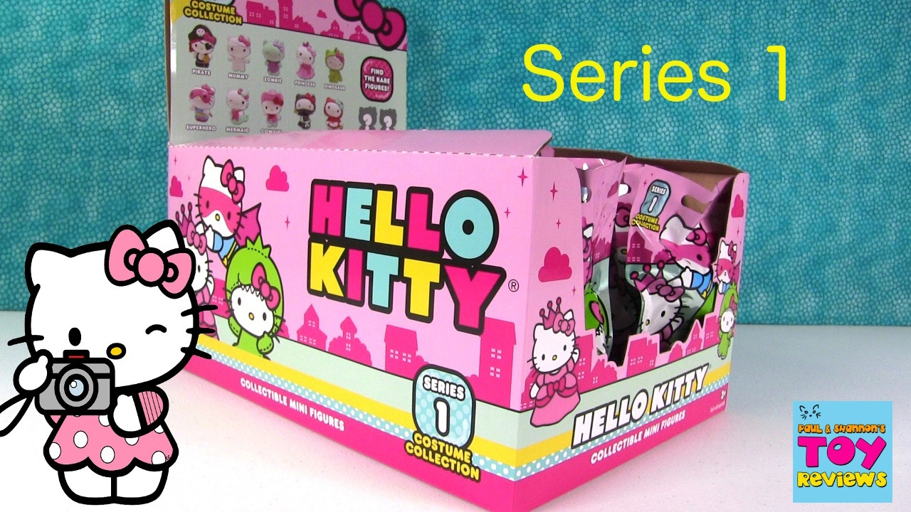 Smooshy Mushy Series 1 Checklist : Hello Kitty Costume Collection Series 1 Blind Bag Figures Opening PSToyReviews - YouTube