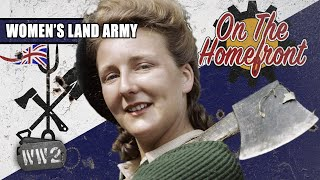 Girls Armed With Pitchforks - The Women's Land Army - On the Homefront 002
