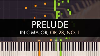 Frédéric Chopin - Prelude in C Major, Op. 28, No. 1 (Synthesia)