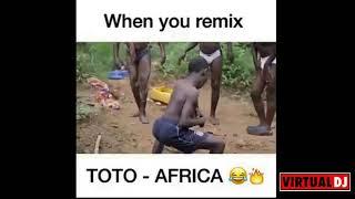 Toto-When you Remix Africa (Jesse Bloch &Joey  Virtual DJ)